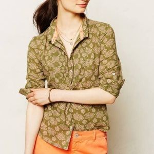 Anthropologie Holding Horses Ismay Button Down